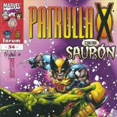 Cómics: LA PATRULLA X VOLUMEN 2 NUMERO 34. Lote 99825291