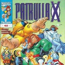 Cómics: LA PATRULLA X VOLUMEN 2 NUMERO 40. Lote 99825555