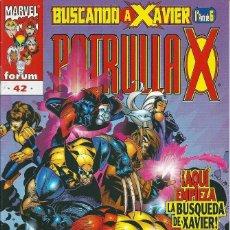 Cómics: LA PATRULLA X VOLUMEN 2 NUMERO 42. Lote 99825643