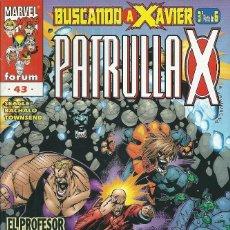 Cómics: LA PATRULLA X VOLUMEN 2 NUMERO 43. Lote 99825683