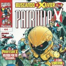 Cómics: LA PATRULLA X VOLUMEN 2 NUMERO 44. Lote 99825715