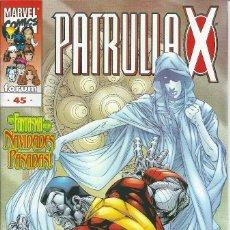 Cómics: LA PATRULLA X VOLUMEN 2 NUMERO 45. Lote 99825763