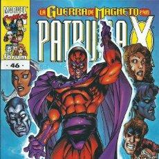 Cómics: LA PATRULLA X VOLUMEN 2 NUMERO 46. Lote 99825811