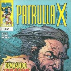 Cómics: LA PATRULLA X VOLUMEN 2 NUMERO 60. Lote 99886107