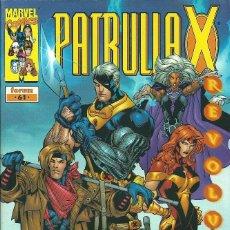 Cómics: LA PATRULLA X VOLUMEN 2 NUMERO 61. Lote 99886215