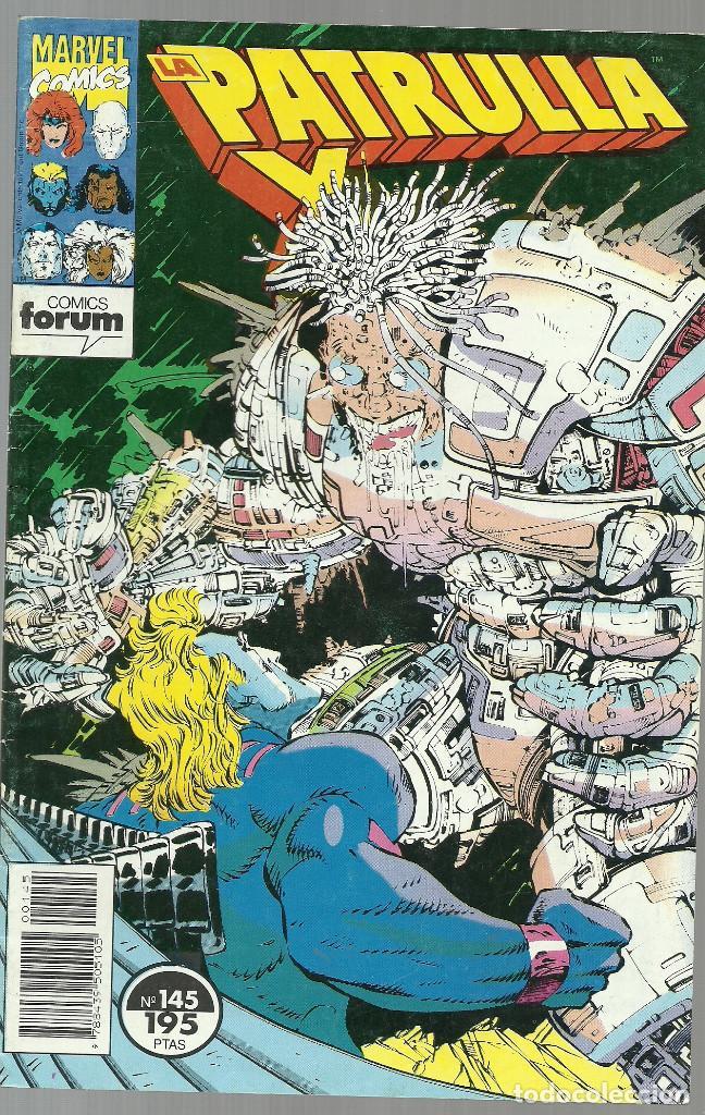 LA PATRULLA X Nº 145 - MARVEL FORUM (Tebeos y Comics - Forum - Patrulla X)