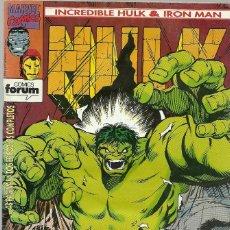 Cómics: INCREIBLE HULK & IRON MAN Nº 4 - MARVEL FORUM . Lote 99933199