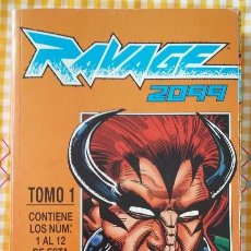 Cómics: RAVAGE 2099 TOMO 1 NUMEROS 1 AL 12 AÑO 1992. COMICS FORUM. Lote 99939575