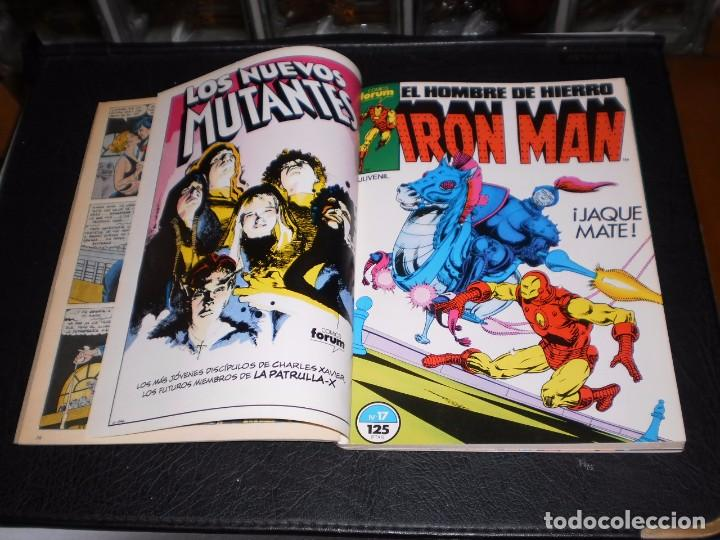 Cómics: EL HOMBRE DE HIERRO-IRON MAN- Nº. 16 AL 20 .- CINCO COMICS FORUM.- RETAPADOS.- 1986 - Foto 3 - 99944407