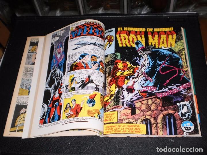 Cómics: EL HOMBRE DE HIERRO-IRON MAN- Nº. 16 AL 20 .- CINCO COMICS FORUM.- RETAPADOS.- 1986 - Foto 4 - 99944407