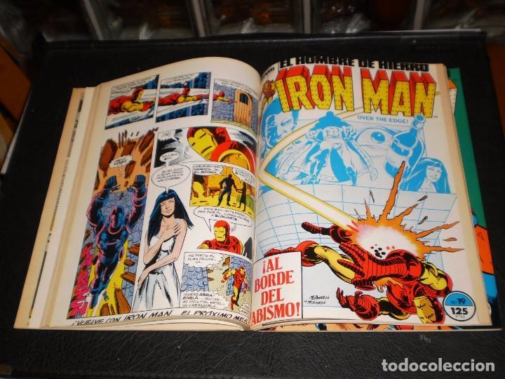 Cómics: EL HOMBRE DE HIERRO-IRON MAN- Nº. 16 AL 20 .- CINCO COMICS FORUM.- RETAPADOS.- 1986 - Foto 5 - 99944407