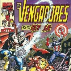 Cómics: LOS VENGADORES VOLUMEN 3 NUMERO 21. Lote 99985651