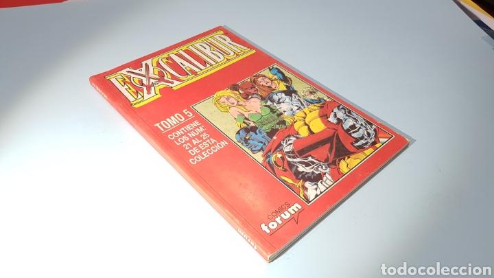 EXCALIBUR TOMO 5 EXCELENTE ESTADO FORUM RETAPADO (Tebeos y Comics - Forum - Retapados)