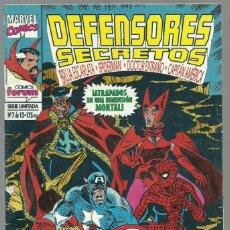 Cómics: DEFENSORES SECRETOS Nº 7 DE 12 SERIE LIMITADA - MARVEL FORUM. Lote 100033415