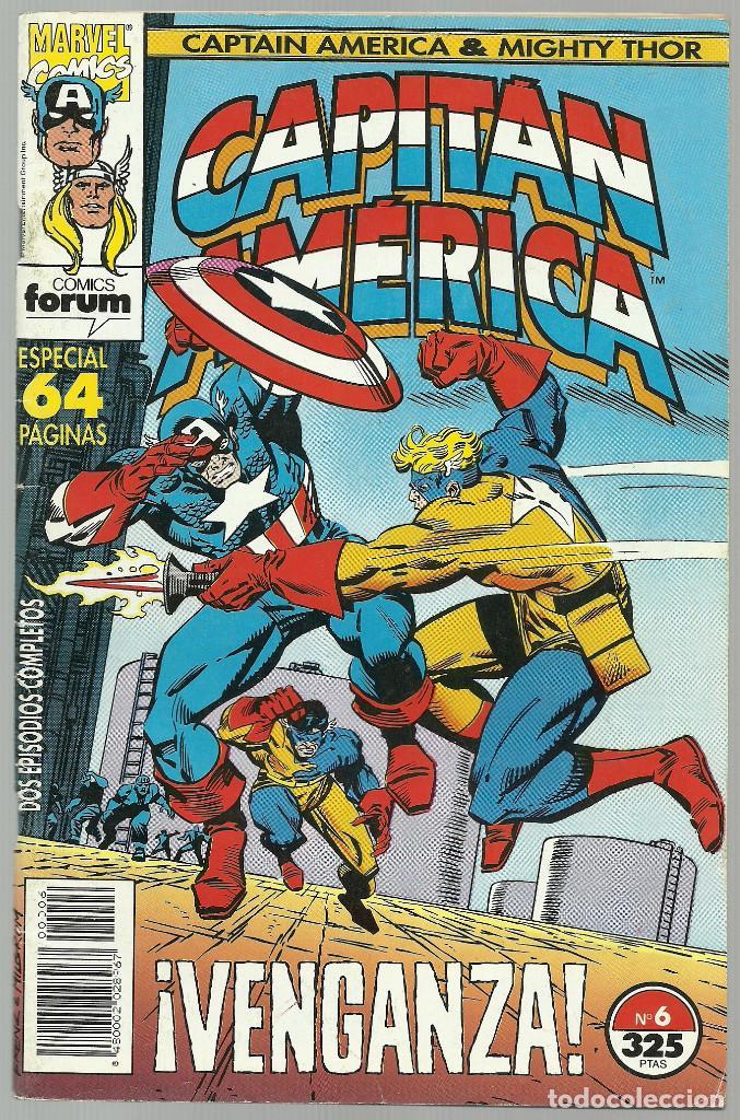 CAPITAN AMERICA Nº 6 - ESPECIAL 64 PAGINAS - MARVEL FORUM (Tebeos y Comics - Forum - Capitán América)