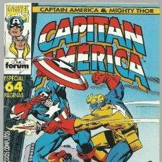 Cómics: CAPITAN AMERICA Nº 6 - ESPECIAL 64 PAGINAS - MARVEL FORUM . Lote 100034459