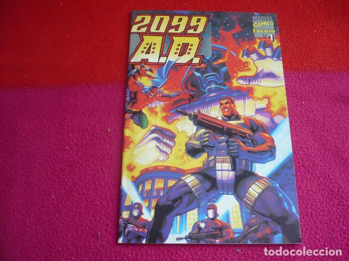 2099 AD ESPECIAL 1 ( KAVANAGH ) ¡MUY BUEN ESTADO! MARVEL FORUM (Tebeos y Comics - Forum - X-Men)