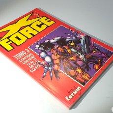 Cómics: X FORCE TOMO 3 EXCELENTE ESTADO FORUM RETAPADO. Lote 100116255