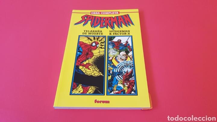 SPIDERMAN OBRA MAESTRA EXCELENTE ESTADO FORUM RETAPADO (Comics und Tebeos - Forum - Neu eingebunden)