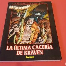 Cómics: SPIDERMAN LA ULTIMA CACERIA DE KRAVEN EXCELENTE ESTADO FORUM. Lote 100138094
