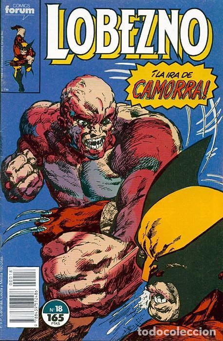 LOBEZNO VOL.1 Nº 18 FORUM JOHN BYRNE (Tebeos y Comics - Forum - Otros Forum)
