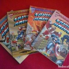 Cómics: BIBLIOTECA MARVEL CAPITAN AMERICA 10, 11, 12 Y 13 ( CONWAY BUSCEMA ) ¡MUY BUEN ESTADO! FORUM. Lote 100600267