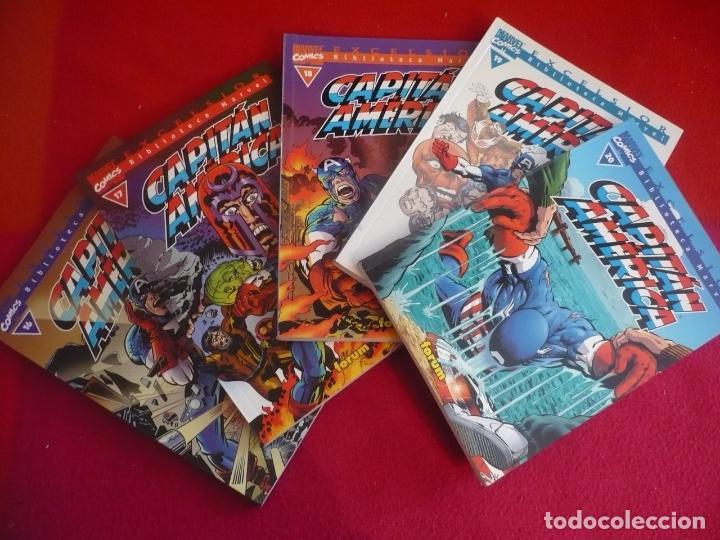 BIBLIOTECA MARVEL CAPITAN AMERICA 16, 17, 18, 19 Y 20 ( KIRBY BUSCEMA ) ¡MUY BUEN ESTADO! FORUM (Tebeos y Comics - Forum - Capitán América)