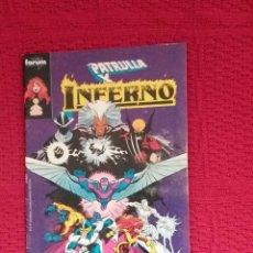 Cómics: PATRULLA X - INFERNO- EDITADO POR PLANETA. Lote 100655627