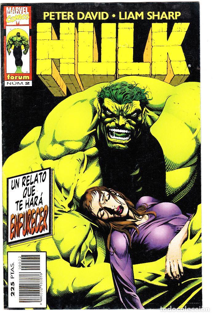 HULK. PETER DAVID / LIAM SHARP. Nº 2. FORUM (Tebeos y Comics - Forum - Hulk)