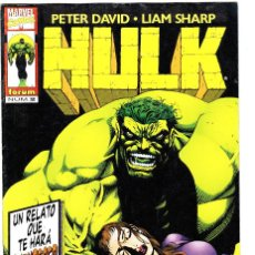 Cómics: HULK. PETER DAVID / LIAM SHARP. Nº 2. FORUM. Lote 100666123
