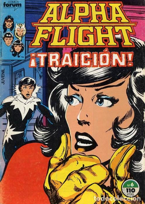 ALPHA FLIGHT VOL. 1 Nº 6 FORUM (Tebeos y Comics - Forum - Alpha Flight)