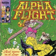 Cómics: ALPHA FLIGHT VOL. 1 Nº 11 FORUM. Lote 100966931
