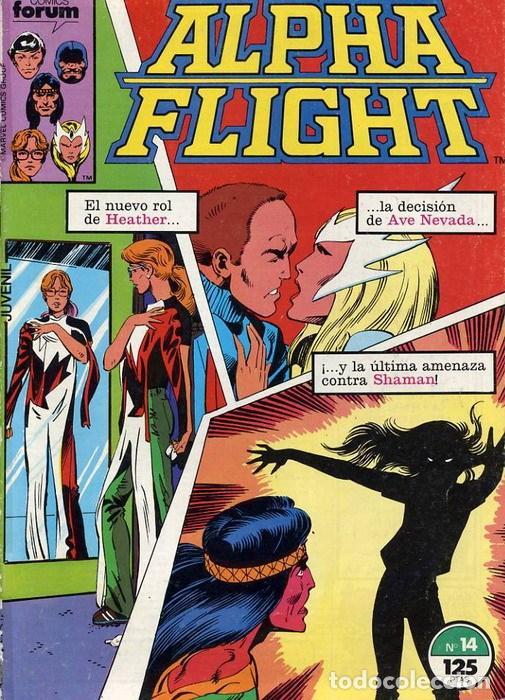 ALPHA FLIGHT VOL. 1 Nº 14 FORUM (Tebeos y Comics - Forum - Alpha Flight)