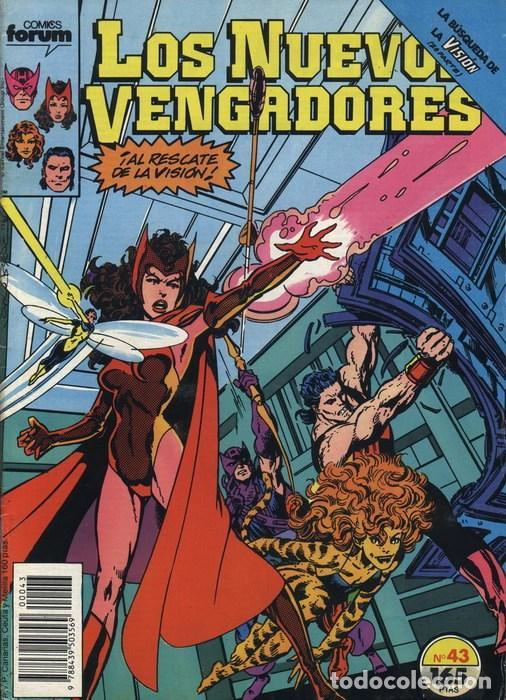 NUEVOS VENGADORES VOL.1 Nº 43 FORUM (Tebeos y Comics - Forum - Vengadores)