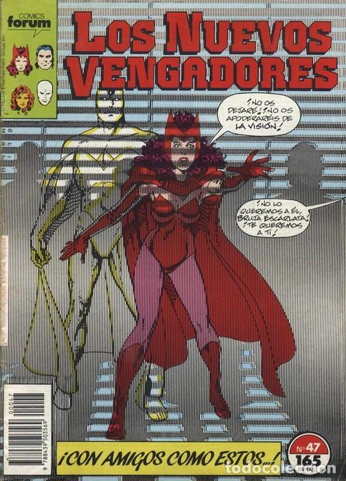 NUEVOS VENGADORES VOL.1 Nº 47 FORUM (Tebeos y Comics - Forum - Vengadores)