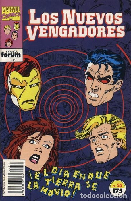 NUEVOS VENGADORES VOL.1 Nº 55 FORUM (Tebeos y Comics - Forum - Vengadores)