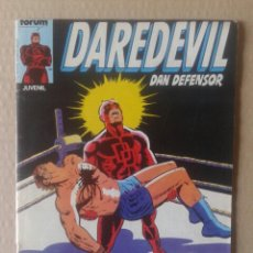 Cómics: DAREDEVIL DAN DEFENSOR N°1. COMICS FORUM (PROCEDENTE DE RETAPADO).. Lote 101058895