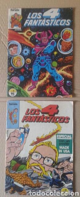 LOTE LOS 4 FANTÁSTICOS. NÚMEROS 4-5-21-29-42-45-46-49-52-54-56-60-63-65. COMICS FORUM. (Tebeos y Comics - Forum - 4 Fantásticos)