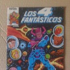 Cómics: LOTE LOS 4 FANTÁSTICOS. NÚMEROS 4-5-21-29-42-45-46-49-52-54-56-60-63-65. COMICS FORUM.. Lote 101059503