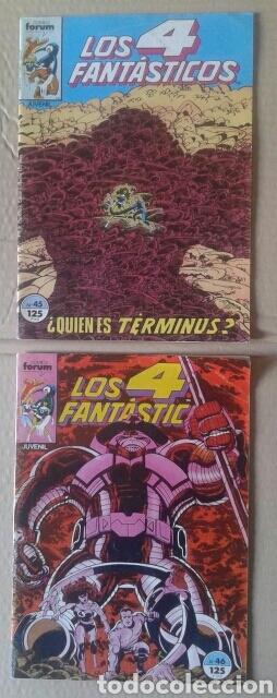 Cómics: Lote Los 4 Fantásticos. Números 4-5-21-29-42-45-46-49-52-54-56-60-63-65. Comics Forum. - Foto 3 - 101059503
