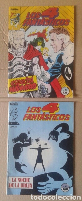 Cómics: Lote Los 4 Fantásticos. Números 4-5-21-29-42-45-46-49-52-54-56-60-63-65. Comics Forum. - Foto 4 - 101059503