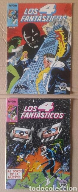 Cómics: Lote Los 4 Fantásticos. Números 4-5-21-29-42-45-46-49-52-54-56-60-63-65. Comics Forum. - Foto 5 - 101059503