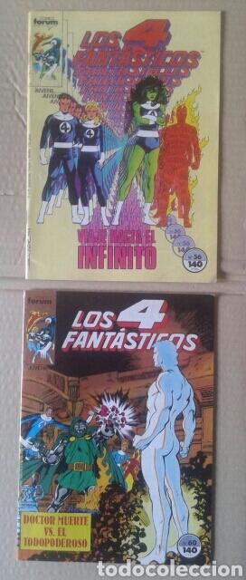 Cómics: Lote Los 4 Fantásticos. Números 4-5-21-29-42-45-46-49-52-54-56-60-63-65. Comics Forum. - Foto 6 - 101059503