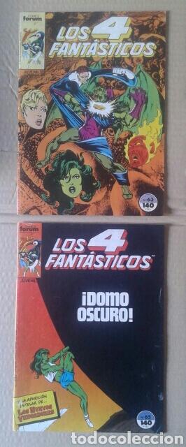 Cómics: Lote Los 4 Fantásticos. Números 4-5-21-29-42-45-46-49-52-54-56-60-63-65. Comics Forum. - Foto 7 - 101059503