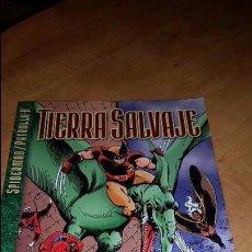 Cómics: SPIDERMAN / PATRULLA X. TIERRA SALVAJE. TOMO FORUM.. Lote 101129519