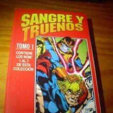 Cómics: SANGRE Y TRUENOS. COLECCION COMPLETA EN RETAPADO FORUM. 7 NUMEROS. THOR, SILVER SURFER, WARLOCK.. Lote 101134223