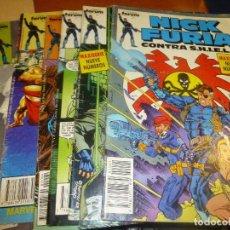 Cómics: NICK FURIA CONTRA S.H.I.E.L.D., NUMEROS 1-2-3-4-6-7-8 . Lote 101209007