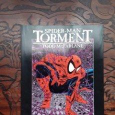Cómics: SPIDERMAN TORMENT (TODD MCFARLANE, OBRAS MAESTRAS Nº 16, FORUM) AÑO 1995.. Lote 101356511