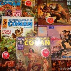 Cómics: SUPER CONAN .16 VOLUMENES TAPA DURA. BUEN ESTADO. LAS MEJORES HISTORIAS DE CONAN.. Lote 101432603