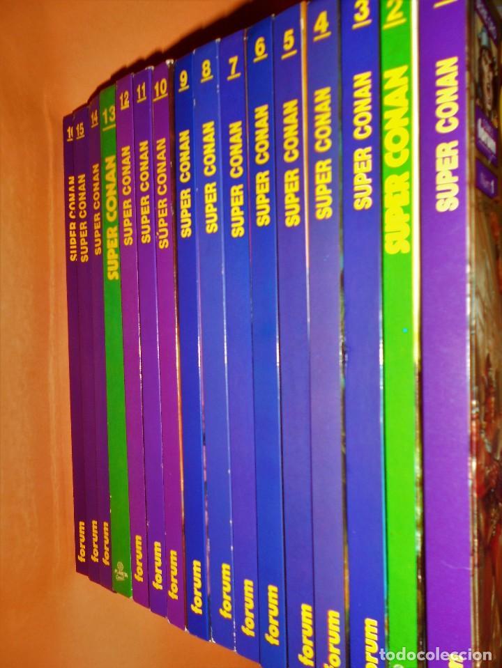 Cómics: SUPER CONAN .16 VOLUMENES TAPA DURA. BUEN ESTADO. LAS MEJORES HISTORIAS DE CONAN. - Foto 2 - 101432603